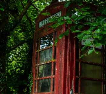 Dartmoor old phone box